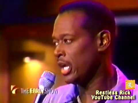 Slim Luther Vandross Talks Weight Loss & Sings Here and Now 2000