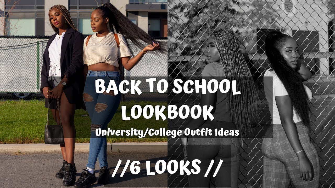 Back To School Lookbook | University & College Outfit Ideas W/ Auneetuh 1