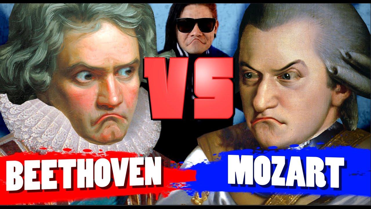 Beethoven Vs Mozart Youtube