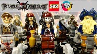 лего Пираты Карибского Моря минифигурки из Китая