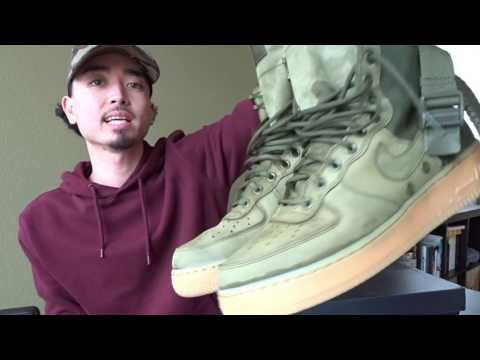 NIKE SF AF1 UPDATE: ARE THEY WORTH IT?? + HOW LONG THEY TAKE TO DRY!