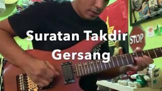 Suratan Takdir - Guitar Solo Cover & Tutorial