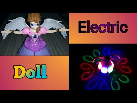 Electric doll toy for kids (Unboxing and testing).