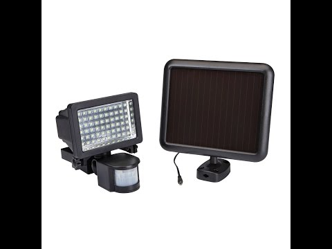 Led Solar Motion Light Harbor Freight Quick Insta