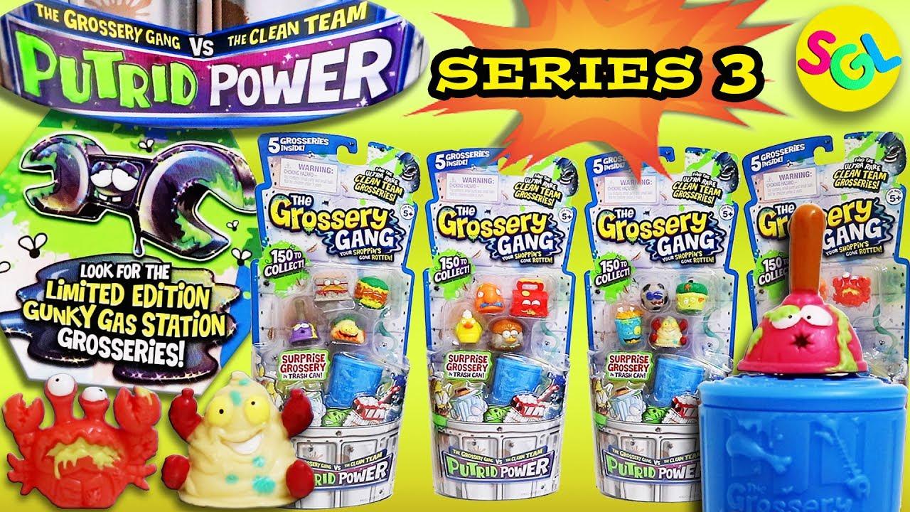 Grossery Gang Series 3 Putrid Power Grossery Gang Vs