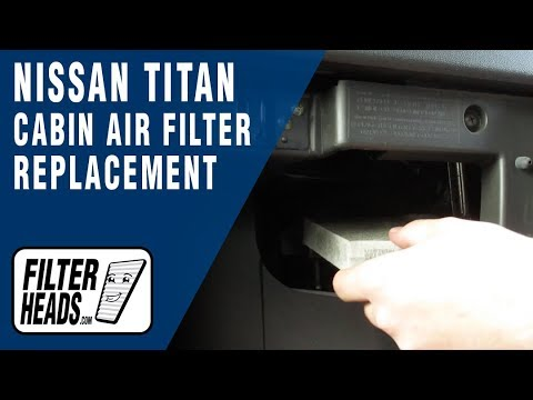 Cabin Air Filter >> How to Replace Cabin Air Filter 2007 Nissan Titan - YouTube