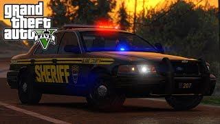 Patrouille en Buffalo - COPS 82 - LSPDFR GTA V | الأردن VLIP