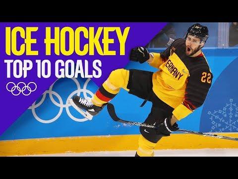 Best Goals From Men's Ice Hockey | Pyeongchang 2018 | Eurosport