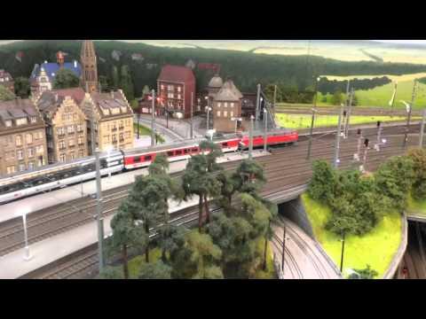 Modellbahnanlage Luxemburg