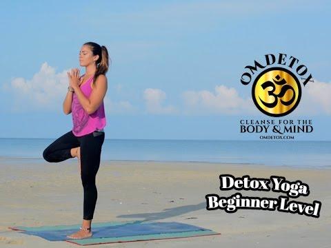 Yoga on the Beach, Om Detox yoga class