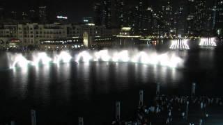 Dubai fountain 2013 - chinese song