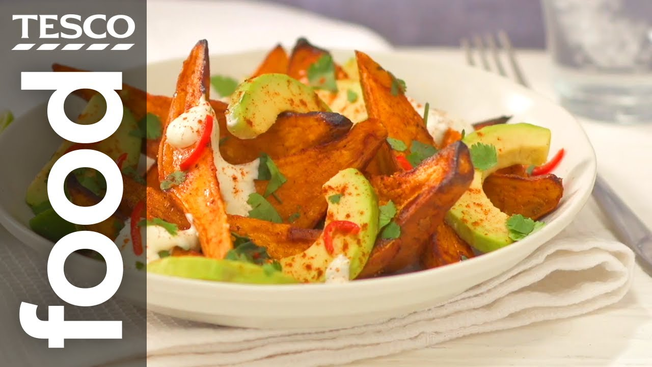 How To Make Great Sweet Potato Wedges Tesco Food