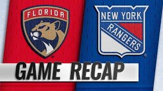 Zibanejad's four points spark Rangers past Panthers