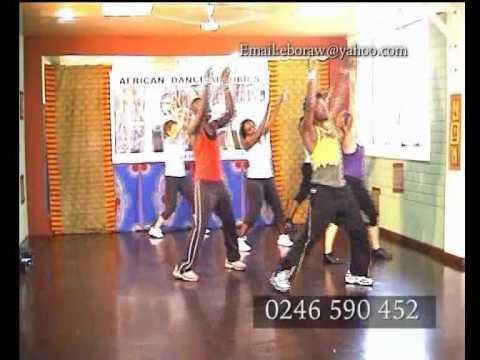 AFRICAN DANCE AEROBICS. RAWLINGS EBO - WORKOUT