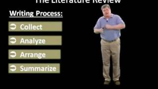 Writing the Literature Review (Part Two): Step-by-Step Tutorial for Graduate Students