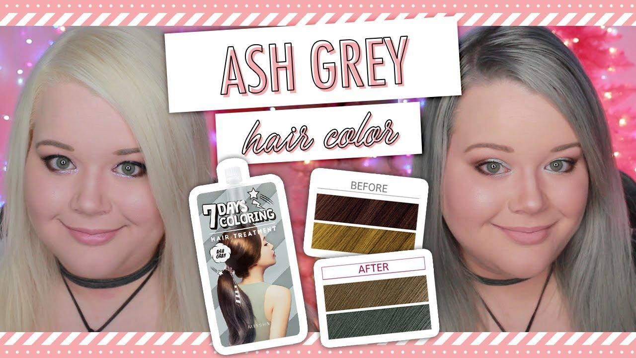 Missha 7 Days Coloring Treament In Ash Grey K Beauty