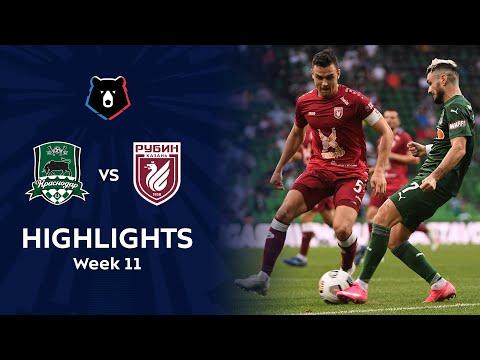 Krasnodar FK Rubin Kazan Goals And Highlights