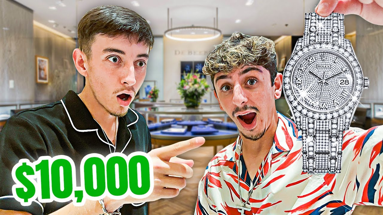 I GOT GIFTED A $10,000 WATCH... **crazy reaction**