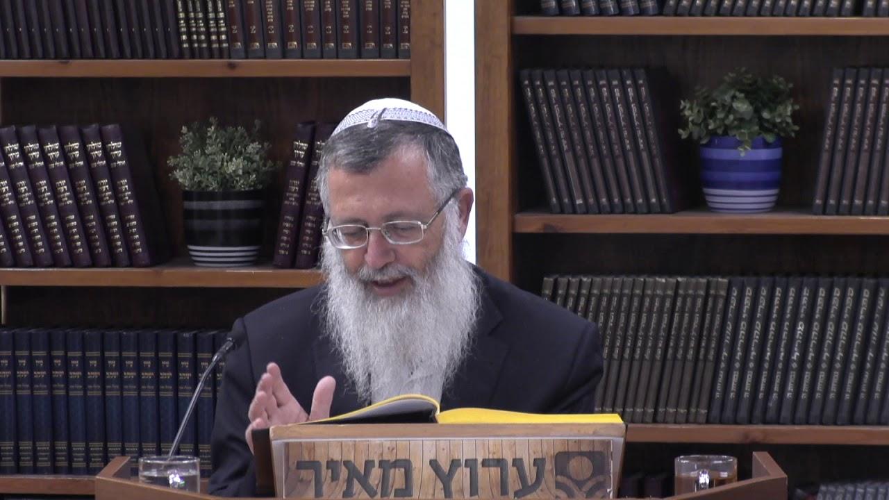 הלכות פסח - הרב מרדכי ענתבי - משנה ברורה חלק ג'