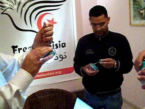 Free Tunisia receives solar bulbs for Humanitarian action