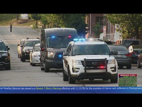 End Of Watch Call Held For Officer Calvin Hall