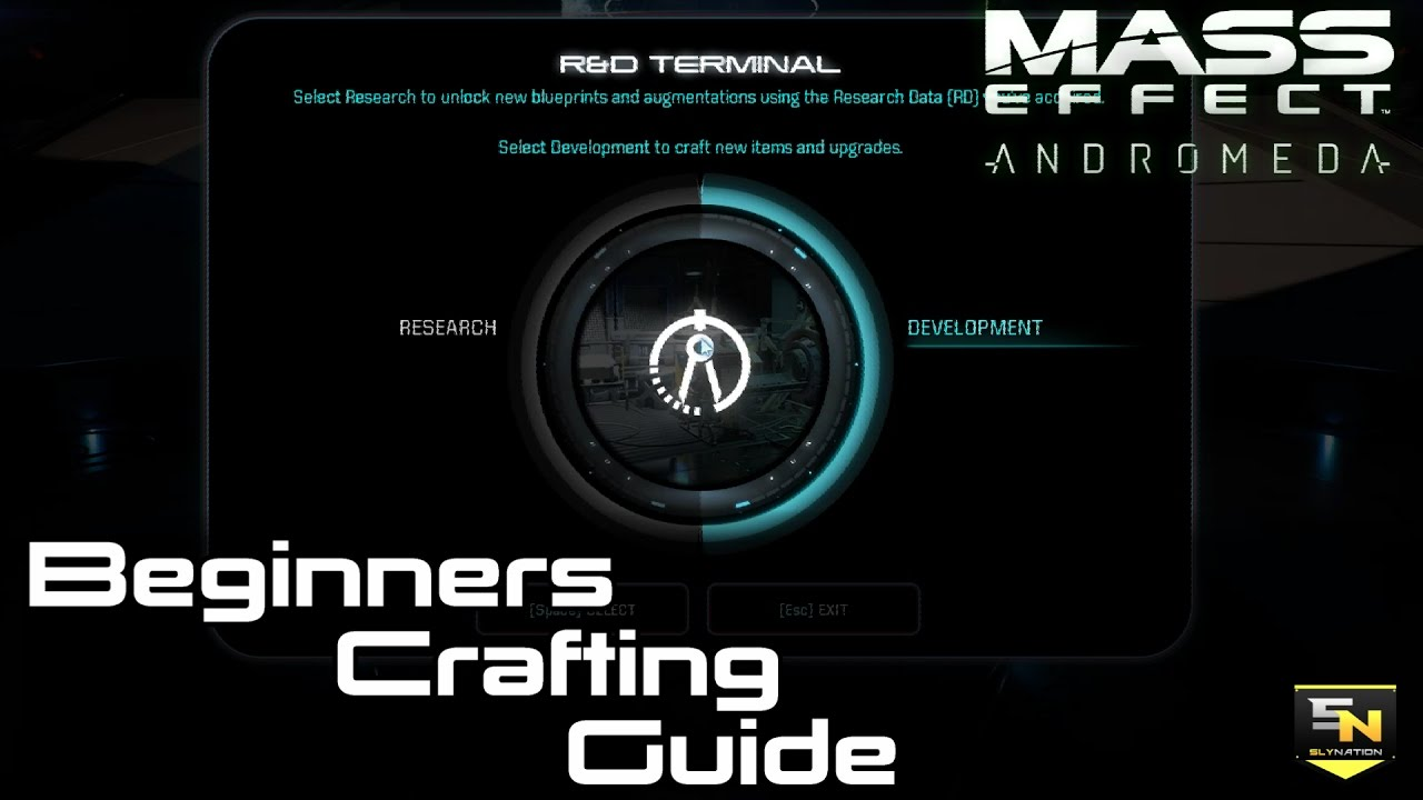 Mass effect andromeda crafting guide for beginners rd mods mass effect andromeda crafting guide for beginners rd mods augments blueprints more malvernweather Gallery