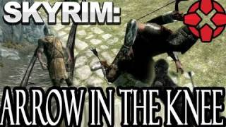 Skyrim: Arrow In The Knee Massacre - Gameplay Montage