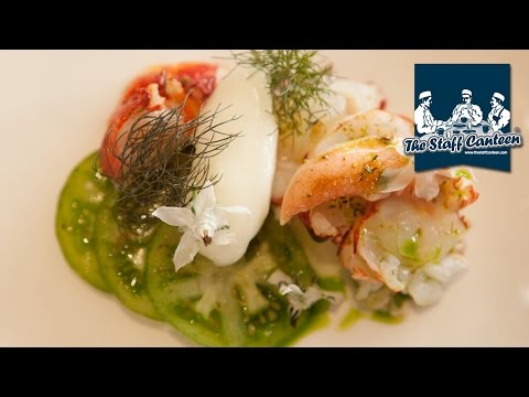 2 Michelin-starred chef Phil Howard cooks lobster and smoked eel dishes