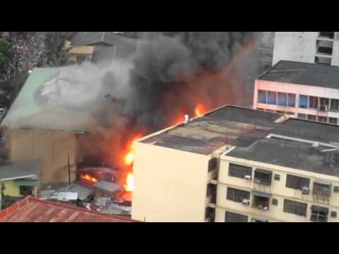 Fire @Sta Cruz Manila