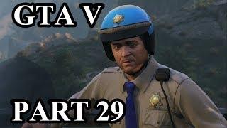 Grand Theft Auto V (GTA V) Gameplay Walkthrough (PS4 Pro) - Part 29 - I Fought the Law