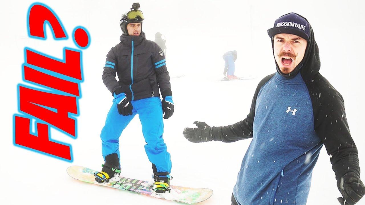 Lov zážitků #6 | Učím se na Snowboardu!