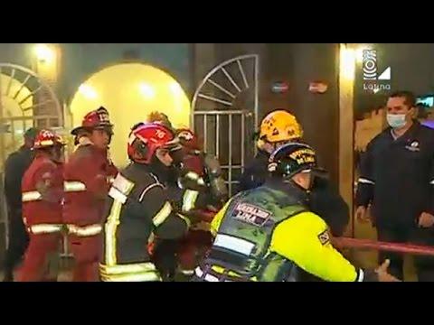 Siniestro en las Malvinas: nuevo incendio en pollería del Cercado de Lima