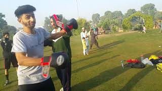 Lahore Good martial arts trainer Altaf khan . morning training session At Cavalry park.