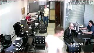 Тестовая видеозапись с IP камеры Falcon Eye FE IPC BL100P