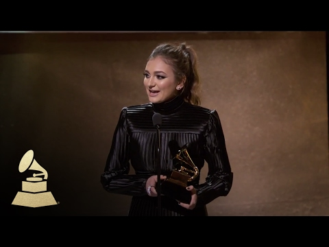 Daya accepting for Dance Recording  Acceptance Speech  59th GRAMMYs