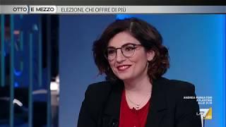 Laura Castelli (M5S) a Otto e mezzo 6/12/2017