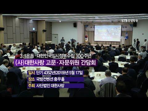 STB스페셜 사대한사랑 고문,자문위원 간담회ㅣ3.1운동,대한민국임시정부수립 100주년
