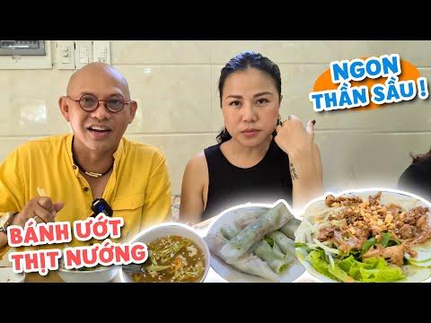 Food For Good #680: Bánh ướt Huyền Anh Huế có 1 cách trộn nước xốt đậu mè với nước mắm ngon lạ kỳ !