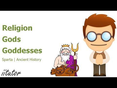 √ Religion, Gods and Goddesses of Sparta | iitutor