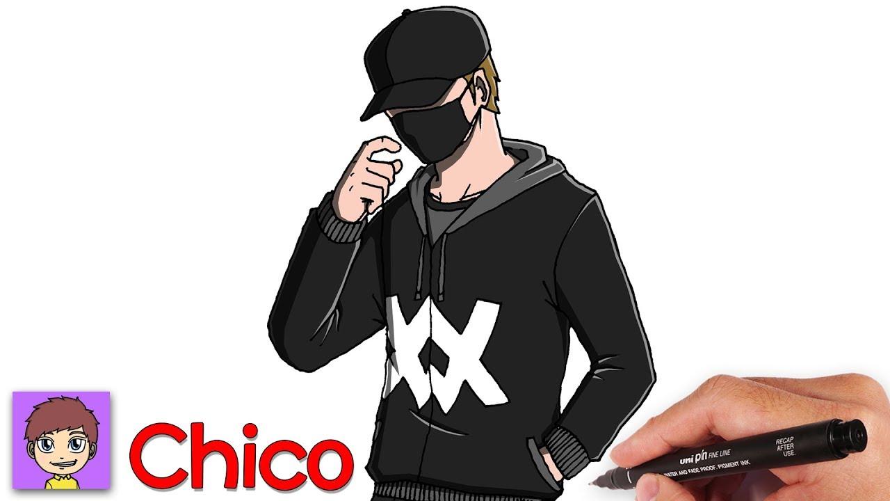 Como Dibujar un Chico Paso a Paso - Dibujos para Dibujar - YouTube