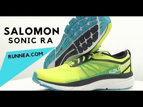 Análisis Salomon Sonic RA: Zapatillas amortiguadas, rápidas, ligeras y sorprendentes