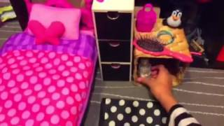 Setting up beakys room (mylife doll)