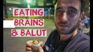 British Guy tries Filipino Balut For First Time | Cebu City Food Tour Philippines