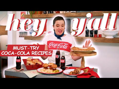 Classic Coca-Cola Recipes You Have To Try | Hey Y'all | Southern Living