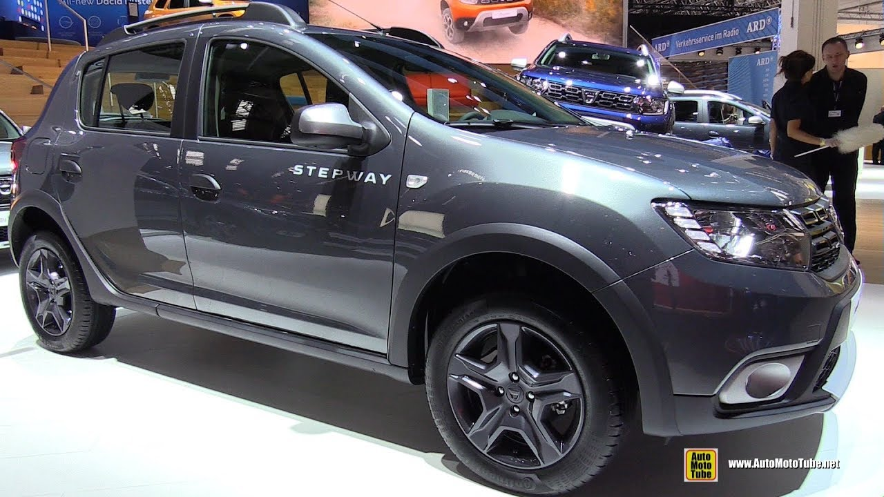 2018 dacia sandero stepway exterior and interior walkaround 2017 frankfurt auto show youtube. Black Bedroom Furniture Sets. Home Design Ideas