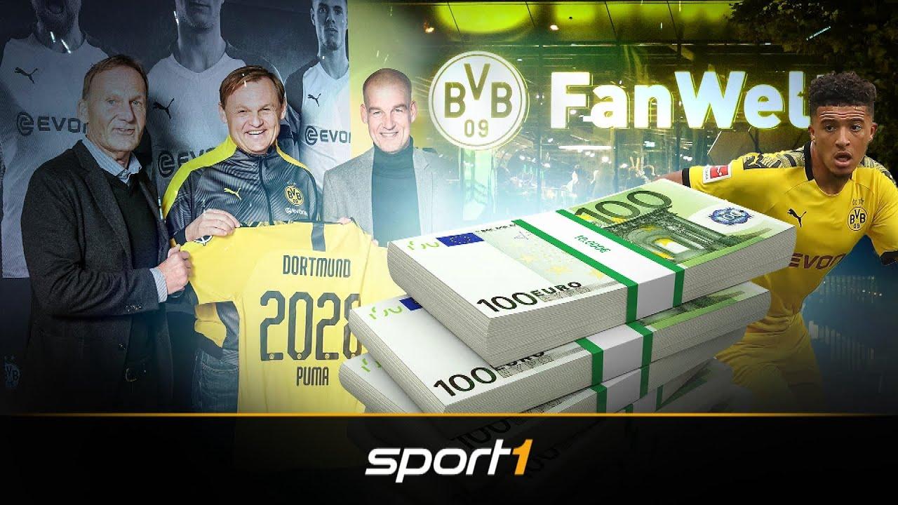 Zwei Sponsoren auf der Brust: So klug machen die BVB-Bosse Geschäfte | SPORT1