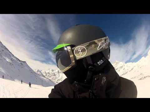 Snowboard Valtournenche and Breuil Cervinia GoPro Hero2