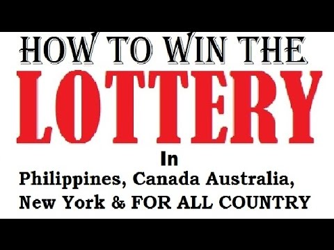 How To Win The Lottery Australia