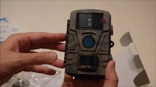 Victure HC200 Hunting Trail/Game Camera - Unboxing