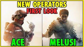 NEW OPERATORS FIRST LOOK ( Ace & Melusi ) | Operation Steel Wave - Rainbow Six Siege